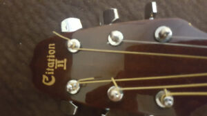 Citation II acoustic guitar