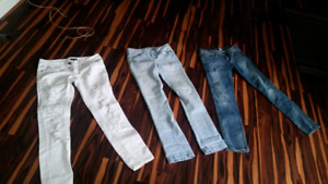 Size 7 great condition jeans and skidoo sweater