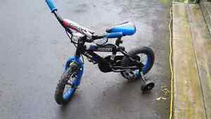 """Boys 10"""" police bike excellent condition"""