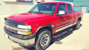 2002 chev extended cab 4x4