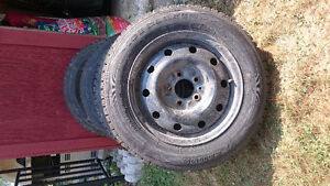 I have 4 Winter Tires on Rims London Ontario image 3
