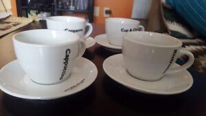 Cappuccino/coffee set