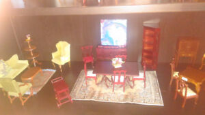 1:12 scale doll furniture and accessories for doll houses