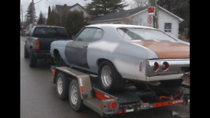 1972 chevelle project! cheap!! build for summer!!