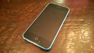 iPhone 5c blue 16GB WORKING / iPhone 5c green PARTS