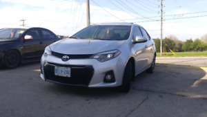 2014 Toyota Corolla S Manual  With Extended Warranty