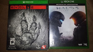 Halo 5 and evolve.