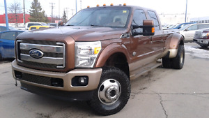 2011 Ford F-350 FX4 King Ranch Pickup Truck 4x4 Diesel Dually