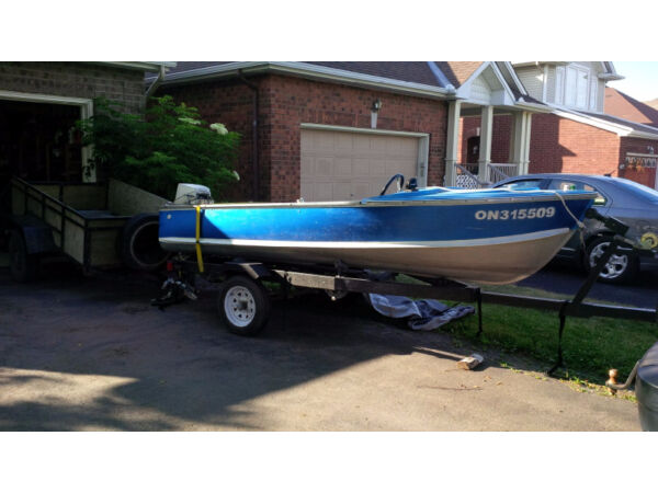 Used 1970 Other 14.5 Aluminium boat