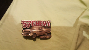 57 CHEVY BELT BUCKLE