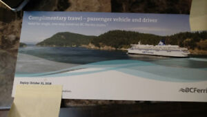 Voucher for ferry travel save more than $30