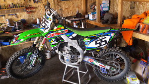 KX250F 2013  for sale or trade
