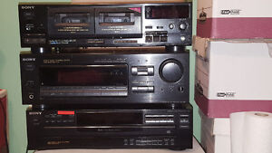 SONY ENTERTAINMENT SYSTEM + BELL + ROGERS RECIEVERS