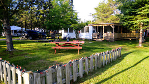 Roulotte Camping Soleil