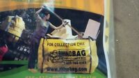 (4) Reusable yard waste bags: $10 for all