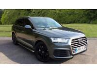 2015 Audi Q7 3.0 TDI Quattro S Line 5dr Tip Automatic Diesel Estate
