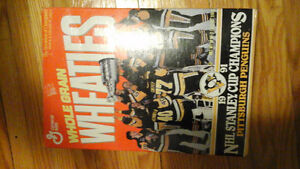 Wheaties 1991 Pittsburgh penguins stanley cup Champs London Ontario image 3
