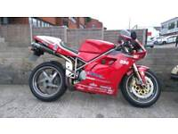 Ducati 996 BP Biposto Termignonis Single seat conversion 2001 Italian Classic