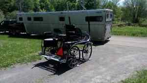 Marathon Carriage - Pair or Single - fits horse and cob