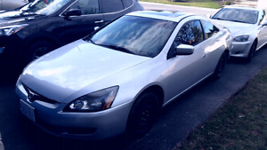 2003 Accord Coupe EXL leather sunroof