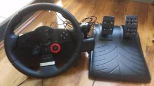 Logitec Driving Force GT - Force feedback wheel - PS3 or PC East Perth Perth City Area Preview