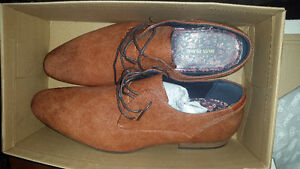 River Island Tan Brogues  (UK Size 12)