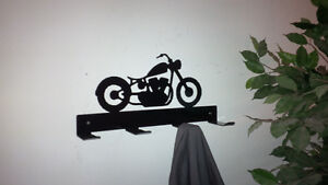 Motorcycle coat rack and other cool coat racks