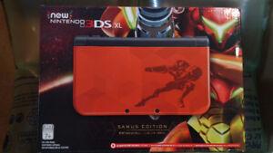 *BNiB* Samus Edition New 3DSXL + Free Charger (Nintendo/Metroid)