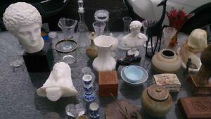 Bibelots, vases