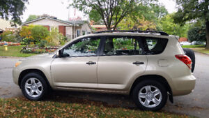 2007 Toyota RAV4 Base SUV, 4-wheel drive Crossover