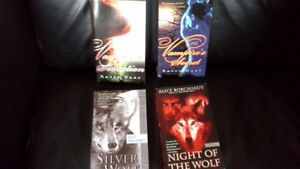 4 supernatural (vampire and wolf shape-shifters) thriller books