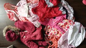 Lot bébé fille, vêtements de marque
