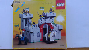 LEGO 6073 & 6268 & 6075 BOXES & INSTRUCTIONS ONLY VTG