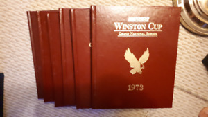 Nascar Hardcover Yearbook lot x 6