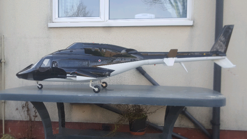 ROBAN AIRWOLF 800 SIZE SUPER SCALE RC HELICOPTER | in Sunderland, Tyne and  Wear | Gumtree