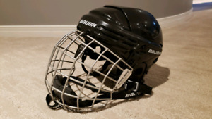 Bauer Hockey Helmet with Face Guard