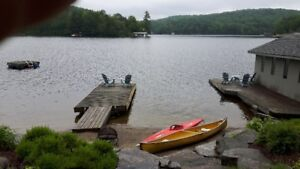AVAIL THANKSGIVING--PRIVATE MUSKOKA WATERFRONT COTTAGE