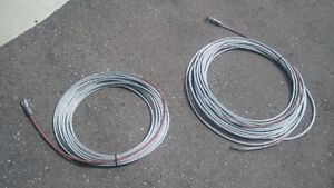 3/8 galv cable - 2 brand new 90' cables Kitchener / Waterloo Kitchener Area image 1
