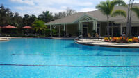 Fort Myers Beautiful Condo on Golf Course with Fitness Facility