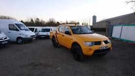 Mitsubishi L200 2.5DI-D 4WD Double Cab Pickup 4Work,1 Owner, Drives nicely,