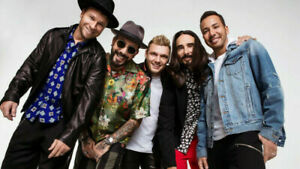 Backstreet boys tickets - Front  section 108 row 12