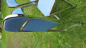 1950s Cooey foldable chairs. Set of 4