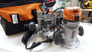 RIDGID ROUTER COMBO KIT ON SALE FOR $165