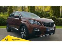 2017 Peugeot 3008 1.2 Puretech Allure EAT6 Automatic Petrol Estate