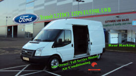 2013 FORD TRANSIT 2.2TDCi 125PS EU5350L LWB WHITE DIESEL VAN