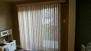 Vertical blinds for sliding door