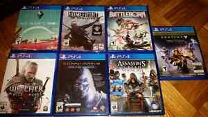 PS4 Shooting and ActionGames (Various Prices)