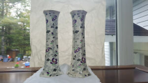 Burleigh Ware England Ceramic Candle sticks