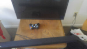 Tv xbox 360 bunch of games subwoofer sound bar