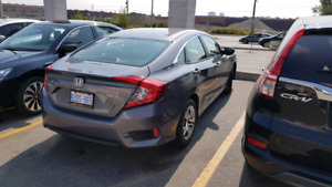 2016 honda civic lx Manual 15,000km